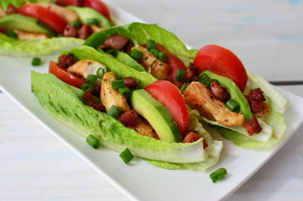 photo credit: wuestenigel Buffalo Chicken BLAT Wraps via photopin (license)